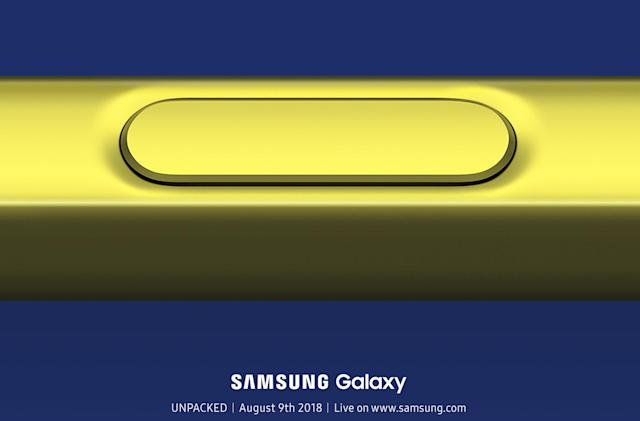 Samsung will reveal the Galaxy Note 9 in Brooklyn on August 9th