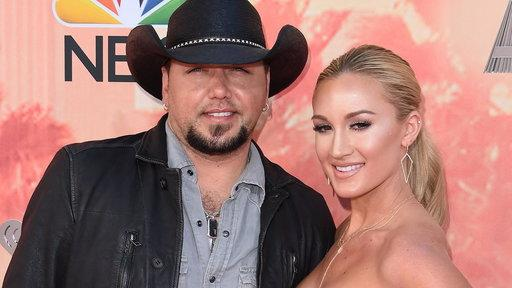 ecd40faa167fb Jason Aldean and wife Brittany welcome daughter Navy Rome
