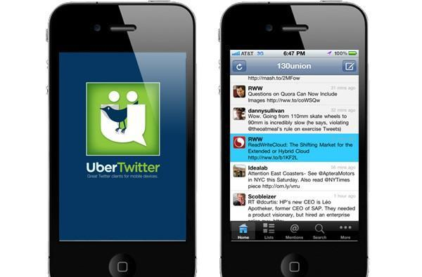 iPhone gets UberTwitter client, BlackBerrys have one less reason to exist