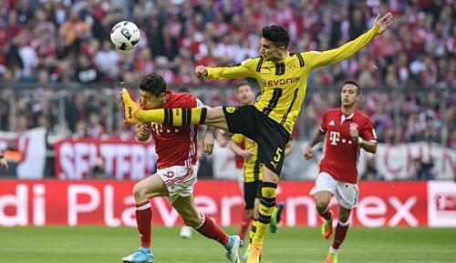 "Bundesliga: Lewandowski über Bartra: ""Das ist Rot!"""