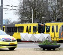 Gunman kills three in Dutch tram, police hunt for Turkish man