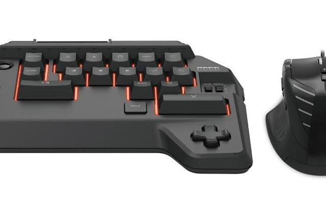 A PS4 mouse and keyboard, just in time for 'Black Ops 3'