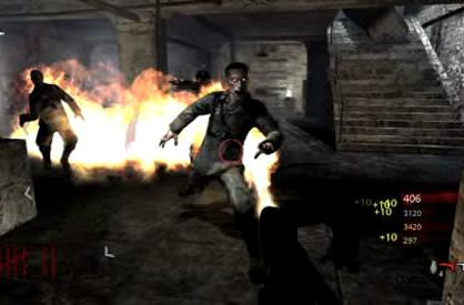 See the Call of Duty: World at War 'Nazi Zombie' mode