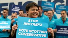 Ruth Davidson: No independence referendum 'any time soon'