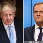 Boris Johnson set to meet European Council President Donald Tusk amid calls for backstop to be scrapped