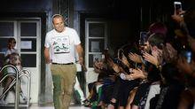 Flying the green flag at Milan fashion week