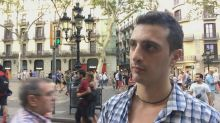 Barcelona residents stand in solidarity with victims of deadly vehicle attack