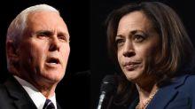 How to watch the U.S. vice-presidential debate between Mike Pence, Kamala Harris