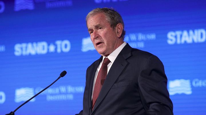Bush takes sides in raging immigration debate