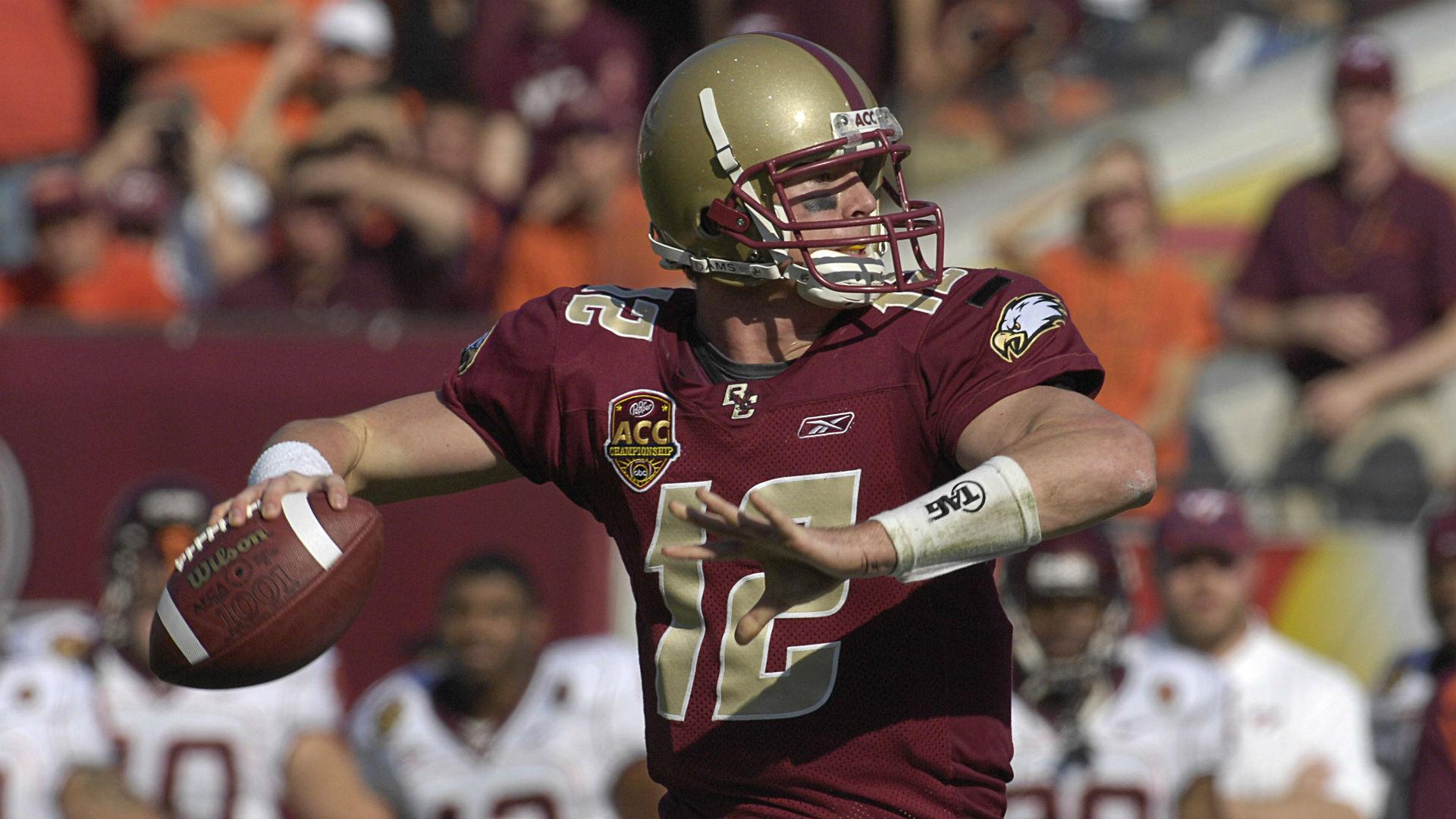 Boston College will retire QB Matt Ryan's jersey Saturday