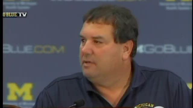 Michigan reacts to Gholston's penalties: 10/17/11