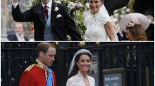 Pippa vs. Kate: comparamos las bodas de las hermanas Middleton