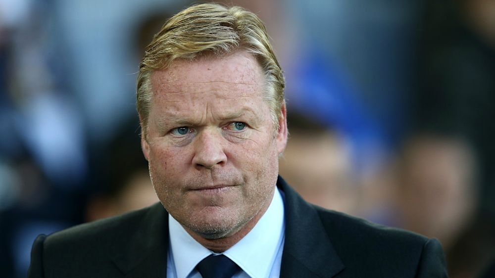 Koeman calm despite pressure on Everton