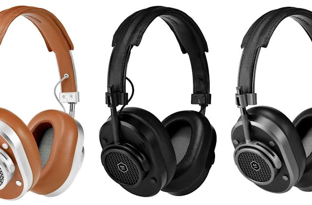 Master & Dynamic made a wireless version of its iconic MH40 headphones