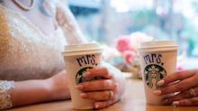 Strangers Help Brides Marry At Starbucks After Wedding Fell Through