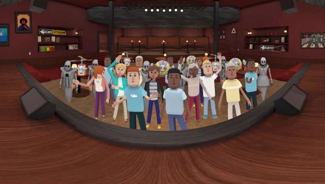 Microsoft buys AltspaceVR's struggling virtual hangout