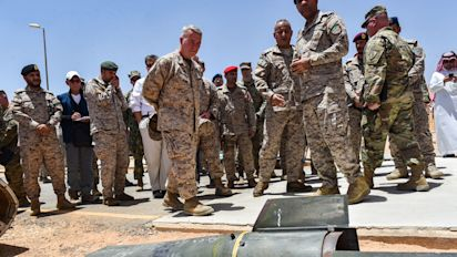 Troops headed to Middle East in 'defensive' role