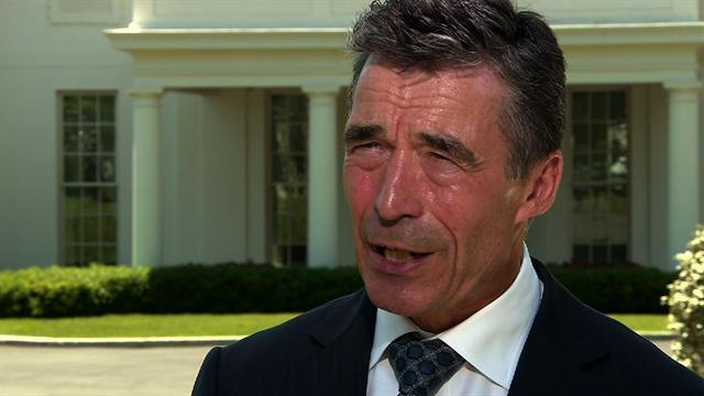 NATO leader voices support for Obama drone policy