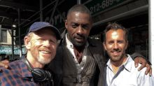 'The Dark Tower':Idris Elba,Ron Howard in a Photo From the Set