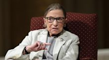 Celebrities rush to pay tribute to 'icon' Ruth Bader Ginsburg