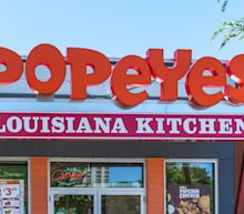 Popeyes U.S. same store sales up more than 40%