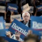 Democratic rivals try to dent Sanders' frontrunner status