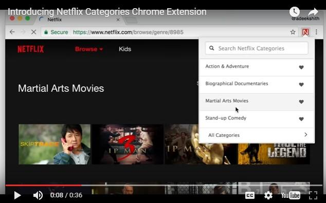 New Netflix extension for Chrome uncovers invisible content