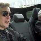Jay Leno Takes Elon Musk For A Drive In A Tesla Cybertruck