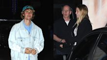 Selena who? Justin Bieber hits the town with mystery blonde.