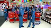 'Heroes and Helpers' take holiday shopping trip