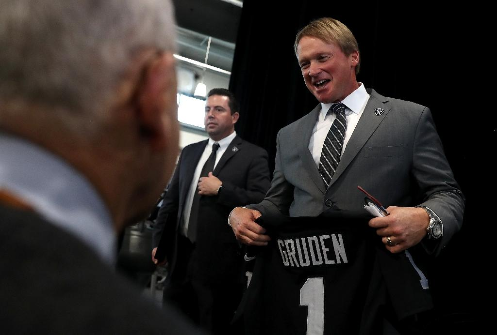 League says Raiders complied with 'Rooney rule' in Gruden hire