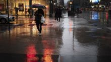 Gale-force winds, rain and snow lash much of northeastern US