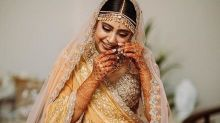 Here's How Pretty You'll Look On Your Wedding If You Invest In Niti Taylor's Pastel Bridal Lehenga