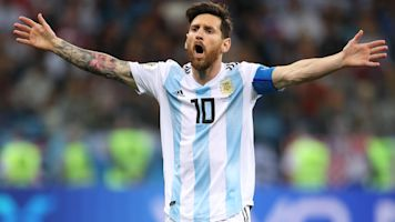 Messi MIA as Argentina falls into deep hole