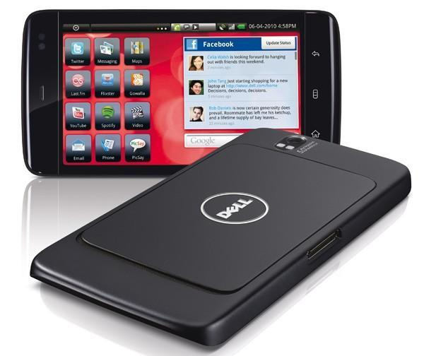 Dell Streak on sale August 13 for $300 on AT&T contract, $550 without