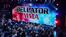 Fighter stretchered out of Bellator 245 after taking roundhouse kicks to groin from champion kickboxer