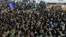 Manifestantes em Hong Kong se preparam para grande protesto no domingo