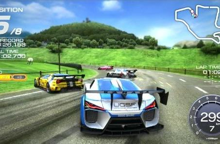 Ridge Racer Vita's development cycle was also a race