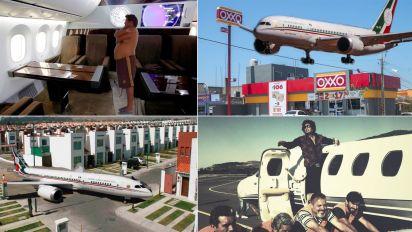 Un genio (o loco) llamado AMLO puso a todo México a soñar con un avión de 130 millones de dólares