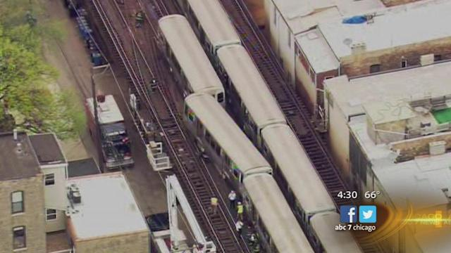 CTA service resumes after Red Line train derails between Armitage and Fullerton