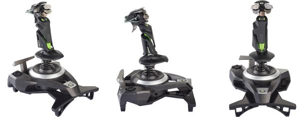 Mad Catz courts Xbox 360 dogfighters with pricy F.L.Y. 9 flightstick