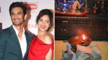 Child of God: Ankita Lights a Diya in Memory of Sushant