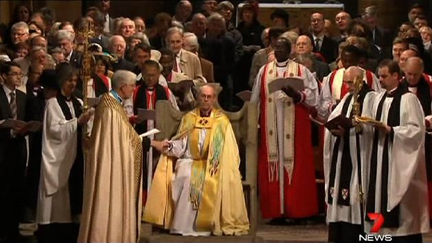 Archbishop of Canterbury enthroned