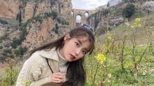 韓國女歌手IU社交網站發西班牙旅行照