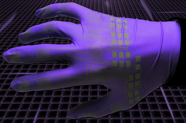 Liquid metal printing puts flexible circuits on 'anything'