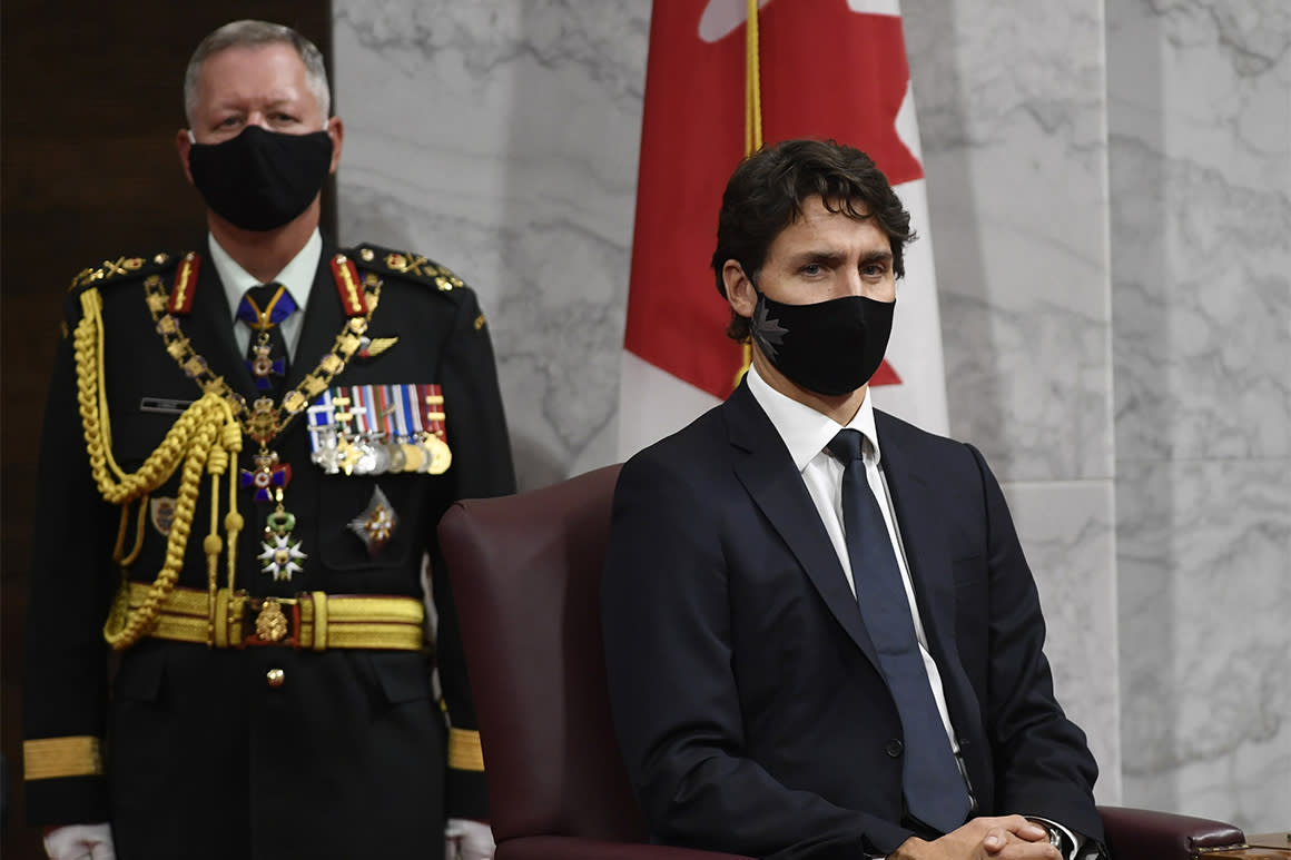 Trudeau: Canada already in second wave of coronavirus