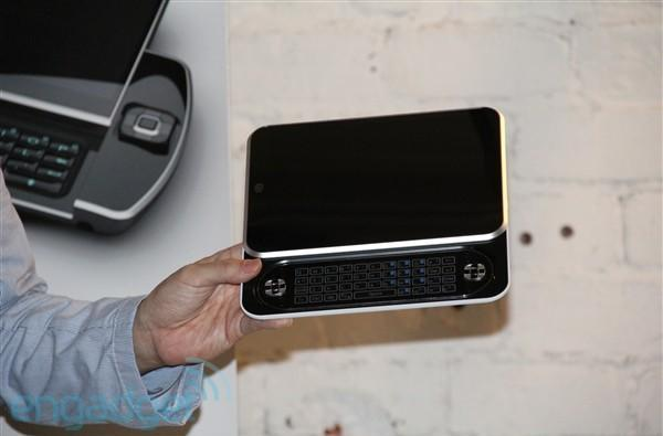Ocosmos unveils crazy OCS-9 tablet with Oak Trail CPU, stylus stand and removable keyboard (update: close up pics!)