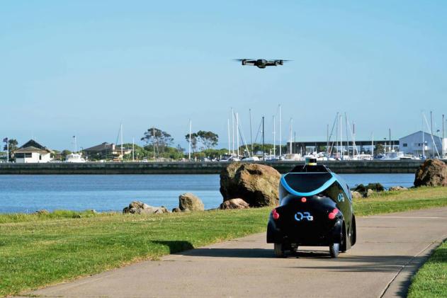 Dubai will police streets with autonomous patrol cars