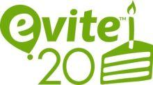 Evite Celebrates its 20th Birthday in 2018!