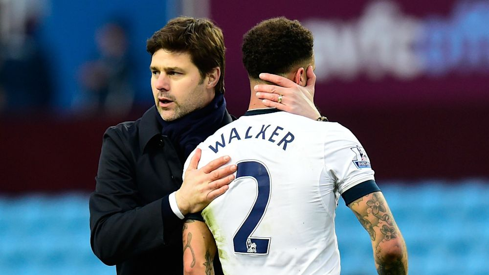 Pochettino: Tottenham will decide Man City target Walker's future, not me
